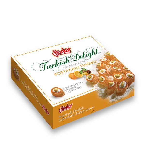 Portakallı Fındıklı Safranbolu Sultan Lokumu